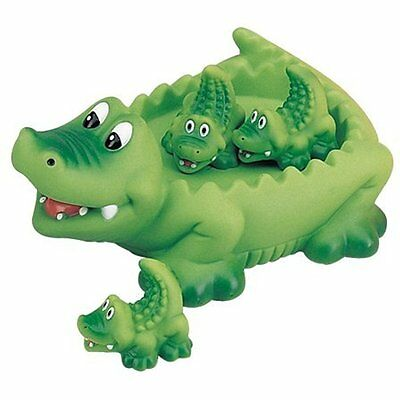 Bath Toy Bathtub Alligator Family Baby Floating Fun Shower Water Kids Play Gift