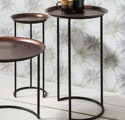 Gallery Nolan Side Table with Antique and Stylish Top - Unique & Designer