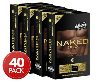 4 x Four Seasons Naked Duo Condoms 10pk