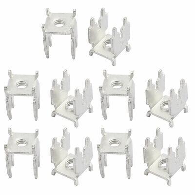 20Pcs PCB-47 M4 Thread PCB Soldering Snap in Screw Terminal Block Terminals Only