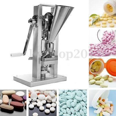 Manual Type Single Punch Drugs Tablet Press Pill Making Machine Maker Equipment