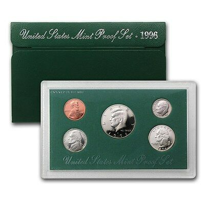 1996-S UNITED STATES PROOF COINS SET IN (Original Mint Packaging) FREE SHIPPING