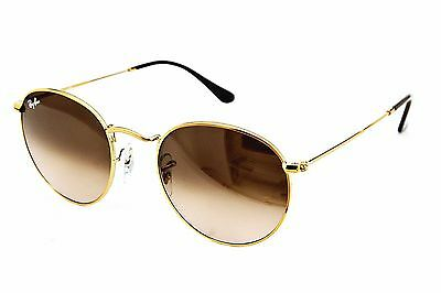 Ray Ban Sonnenbrille/Sunglasses RB3447 Round Metal 9001/A5 50[]21 145 Etui