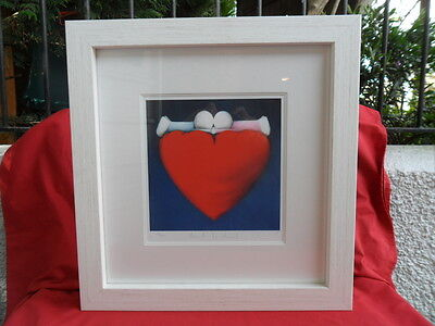 Doug Hyde Heart to Heart, Framed & Signed Limited Edition Print