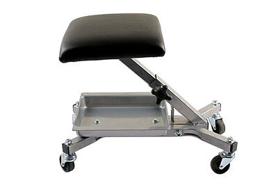 Genuine Power-TEC 92410 Roller Seat - with adjustable height and open storage
