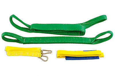 Genuine Power-TEC 91916 Pull Strap Kit 4pc - Includes safety sling