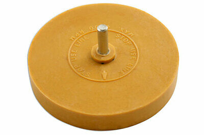 Genuine Power-TEC 91488 Stripe Off Disc with Shank -Rubber erasure wheel