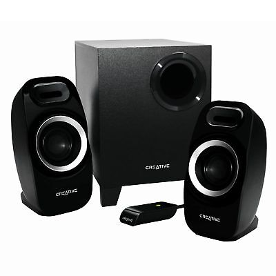 Creative 2.1 Channel T3300 Speaker System Computer Speaker PC Compact Natural