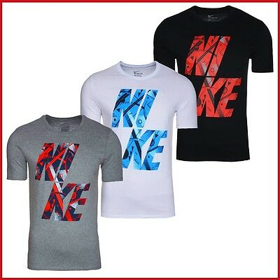 Nike T-Shirt Herren Shirt Sport Fitness Freizeit Shirts  [ S - 2XL ]  NEU  WoW