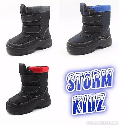 Storm Kidz Cold Weather Kid's Snow Boots (Toddler/Little Kid/Big Kid) 1320