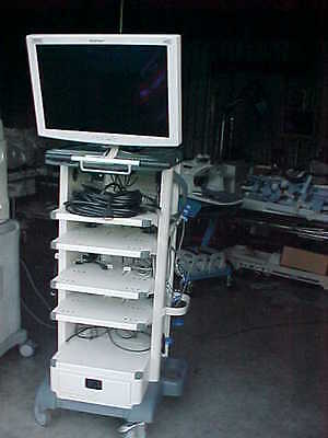 Storz Endo Cart Model 2601HD with Storz NDS 26 inch WideView HD Monitor