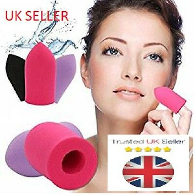 2 x  Finger Bullets Sponge Foam Applicators Beauty Blender Foundation
