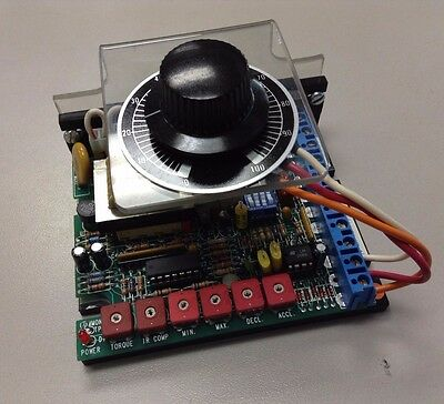 Electrol C-Mh-18-790A-Cm, 790-Cm-1, Dc Speed Control Drive With Dial *tested*
