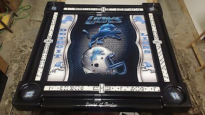 Detroit Lions Domino Table by Domino Tables by Art