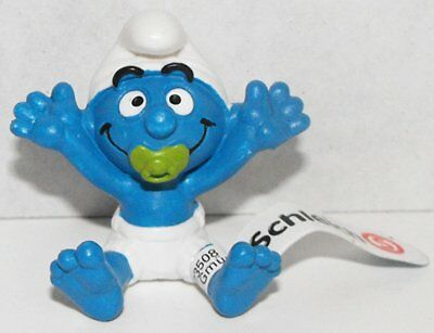 20750 Baby Smurf Figurine from 2013 Smurfy Greetings Collection Miniature Fig...