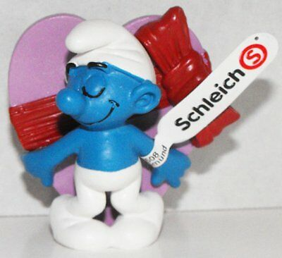 20747 Valentine's Day Smurf 2013 Smurfy Greetings Collection Plastic Figurine