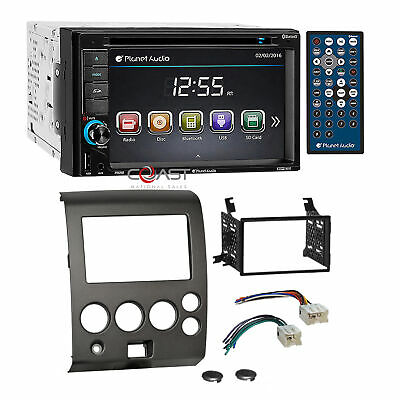 PLANET AUDIO CAR DVD Bluetooth Stereo Dash Kit Harness for ... on