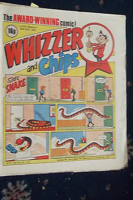 Whizzer And Chips Comic. ****29Th May 1982***sid Burgon-Best Kids Comic  Artist