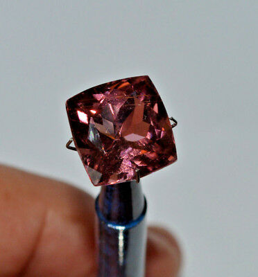 Tourmaline Mid Pink Natural Earth Mined Certified 11.73 ct Afghanistan