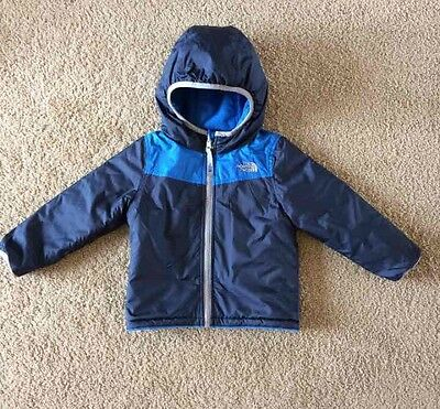 The North Face Toddler Boys Reversible Winter Coat Jacket Size 18-24 Months