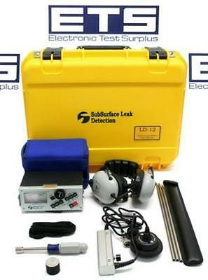 Subsurface Leak Detection LD-12 Professional's Plus Water Leak Detector