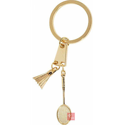 Victor Badminton Racket and Shuttle Keychain / Keyring