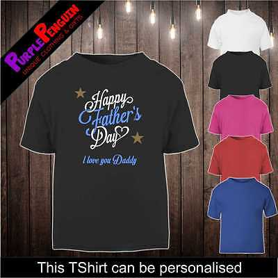 Baby Toddler TShirt - Fathers Day Gift Shower Present Dad Daddy Girl Boy (3)