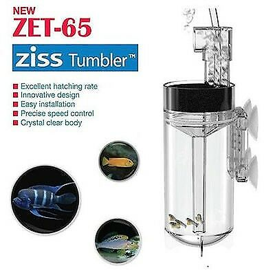 ZET-65 Ziss Aquatics Fish Egg Tumbler / Incubator Aquarium fish hatchery, Cichli