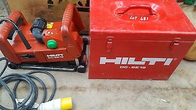 HILTI DC-SE19 110 VOLT WALL CHASER WITH 2 X 125mm BLADES LIKE DC SE 20 VAT INCL