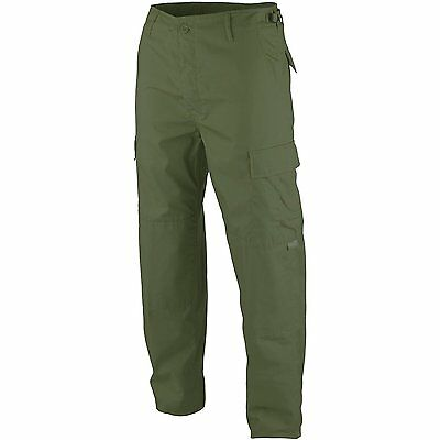 Men's Viper Ripstop BDU Cargo Trousers - Khaki Green. Hunting, Shooting, Fishing