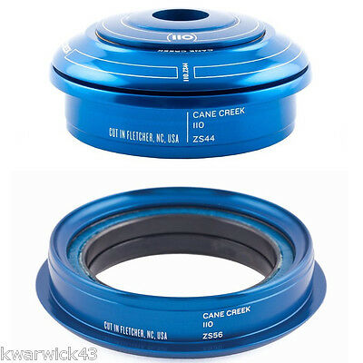 NEW Cane Creek 110 Zero Stack ZS44/28.6-ZS56/40 Tapered Headset Blue