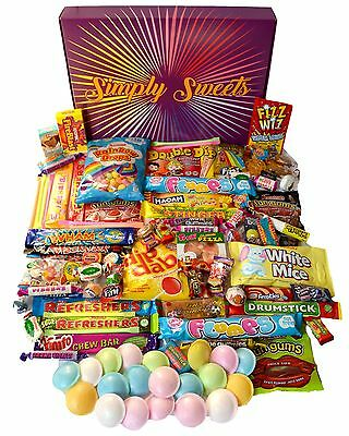 Retro Sweets Hamper - The Ultimate Sweet Gift Box by Simply Sweets