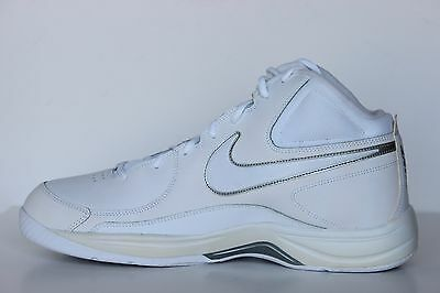 68565cd7b47ee Nike The Overplay VII Mens White Leather Basketball Shoes - NWD Size 6 -  7.5 M