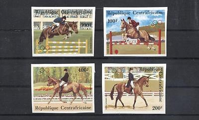 (938737) Olympics, Horse, Centr.Afr.Republic - imperf. -