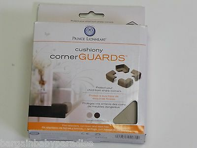 Prince Lionheart Jumbo Table Corner Guards - Grey Gray