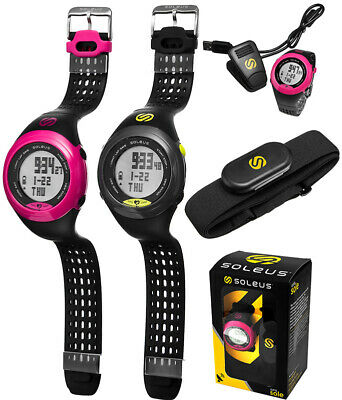 SOLEUS Unisex GPS Heart Rate Monitor Watch HRM Zones Software
