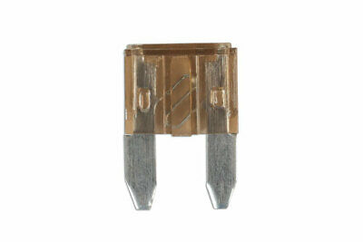 GENUINE Mini Blade Fuse 7.5-amp Brown Pack 25 | Connect 30427