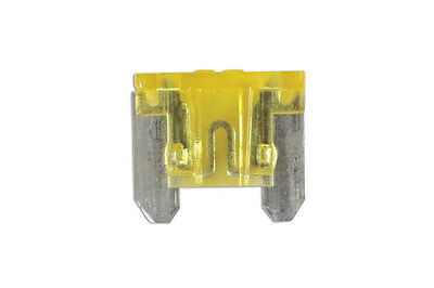 GENUINE Low Profile Mini Blade Fuse 20-amp Yellow Pack 25 | Connect 30442