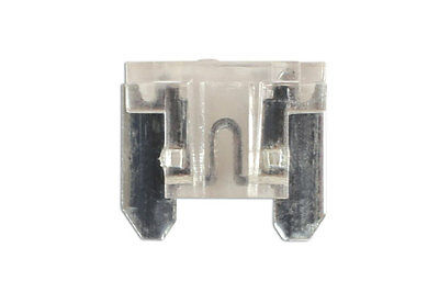 GENUINE Low Profile Mini Blade Fuse 25-amp Clear Pack 25 | Connect 30443