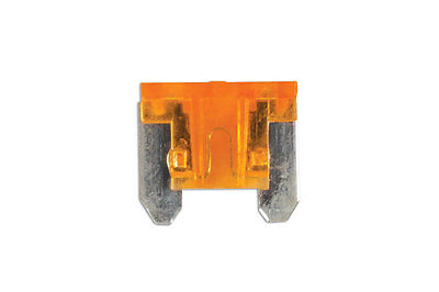 GENUINE Low Profile Mini Blade Fuse 5-amp Beige Pack 25 | Connect 30438