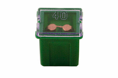 GENUINE J Type Auto Low Profile Fuse Green 40-amp Pk 10 | Connect 30485