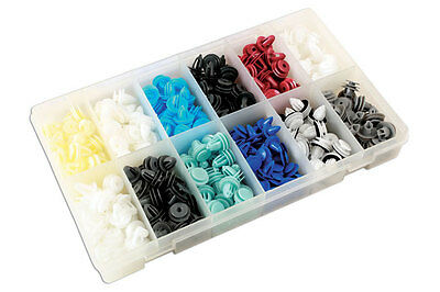 GENUINE Assorted Box of Panel Clips Asian Market 335 Pc | Connect 36047