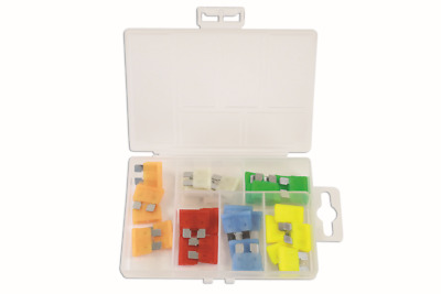 GENUINE LED Standard Blade Fuse Assorted Box 30 Pc | Connect 37156