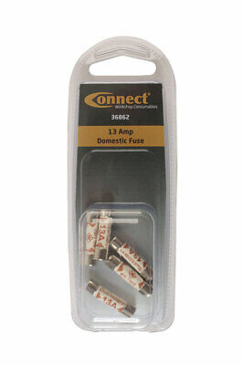GENUINE 13 Amp Domestic Fuse Pk 5 | Connect 36862
