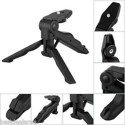 Mini Folding Tripod Stand Camera Handheld Grip for Canon Nikon DSLR iPhone Gopro