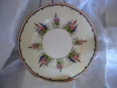 Vintage Alfred Meakin England Hollyhock China Lot of 4 Salad Plates - 8""