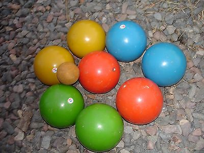 Vintage Italy Bocce ball set
