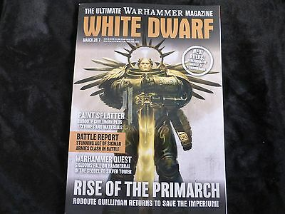 White Dwarf March 2017 - Features Rise of the Primarch + Gangs of Commorragh