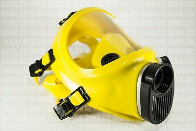 YELLOW!!! Russian FULL FACE GAS MASK Respirator PPM 88, gasmask PPM88 ppm-88 NEW