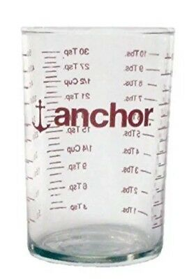 NEW Anchor Hocking 148ml Measuring Glass, Small measure cup cooking measure